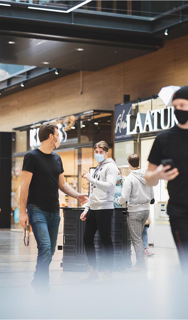 Telia myyntitiimi Helsingissä
